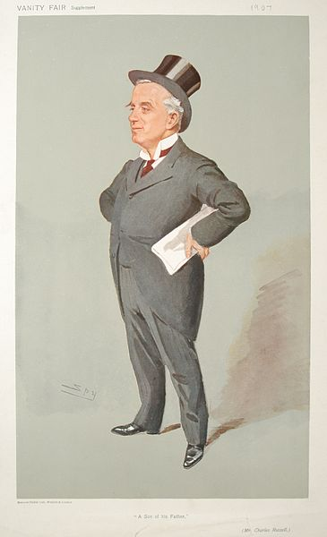 Conceptual image of a lawyer wearing grey suit & top hat