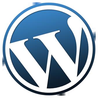 Wordpress Logo Tilted