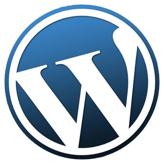 Wordpress Logo Tilted